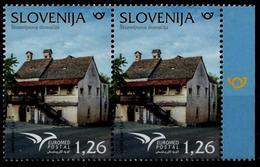 Slovenia 2018: Euromed - Houses Of The Mediterranean ** MNH - Slovénie