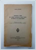 A Renier - Contribution A L'étude De La Bordure Meridionale Du Bassin Houillier De Charleroi Et De La Basse-Sambre - Books, Magazines, Comics