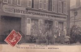 MONTARGIS            HOTEL DE CHALETTE . - Montargis