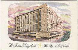 Montreal: CARS  - 'La Reine Elizabeth / The Queen Elizabeth' Hilton Hotel - (Canada) - Toerisme