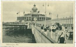 Scheveningen 1937; Pier - Gelopen. (J. V.d. Hoek - Den Haag) - Scheveningen