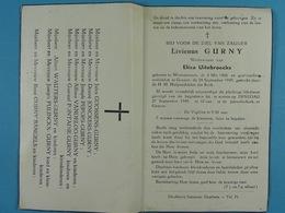 Livienus Gurny Vf Uitebroecks Wommerson 1868 Grazen 1949 - Devotion Images