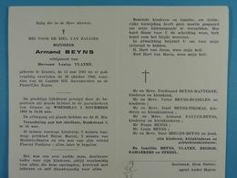 Armand Beyns épx Vlayen Grazen 1881 1966 - Devotion Images