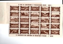 Vignettes étrangére De La Tuberculose - Tegen Tuberculose