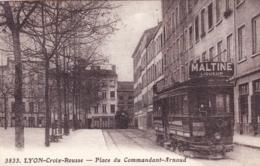 69 - Rhone - LYON  - Croix Rousse - Place Du Commandant Arnaud - Autres