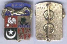 Insigne De La Base Aérienne 141 - Oran - Airforce