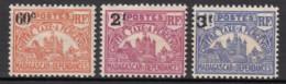 Taxe N° 17 Au N° 19 - X - ( C 1658 ) - Timbres-taxe