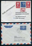 Weltweit / Int. Lot Briefe, Sonderbelege, Blocks (1/283-80) - Briefmarken
