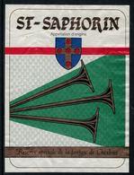 Rare // Etiquette De Vin // Musique // St-Saphorin, Fanfare De Chexbres - Musique