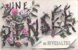 FR66 RIVESALTES - ELD - Colorisée - Une Pensée - Belle - Marchés