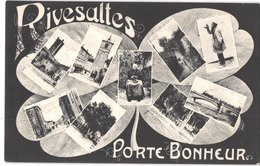FR66 RIVESALTES - LB - Porte Bonheur - Belle - Marchés