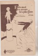(GEO1) FAIS MOI LES AVEUX LES PLUS FOUS , Musique DOL DAUBER , Paroles J LENOIR - Partitions Musicales Anciennes