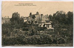 CPA - Carte Postale - Belgique - Petite Espinette - Une Des Jolies Villas De L'Avenue Lequime - 1922 (SV6534) - Ukkel - Uccle