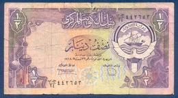 KUWAIT - 1/2 DINAR (1968) - Koweït