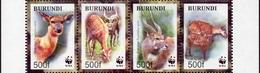 Burundi 1078/81 Sitatunga - W.W.F.