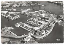 Le Havre - Vue ( Aérienne) à Gauche Les Bassins De La Citadelle Et Des Petites Cales Sèches - Circulé 195? - Le Havre