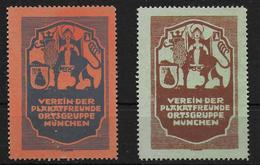 Bayern Verein Der Plakkatfreunde München Vignet Reklamemarke Cinderella - Beieren
