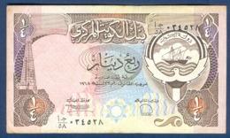 KUWAIT - 1/4 DINAR (1968) - Koweït
