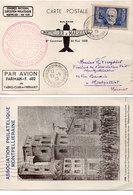 MONTPELLIER - 1° Courrier - 30 Mai 1939 Montpellier A Marseille Par Avion Farman F. 402 - Cachets  (110483) - Montpellier