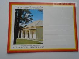 D162394  New Zealand -Leporello Letterfolder  -Bay Of Islands - Waitangi - Russell -Keri Keri - Paihia - Nouvelle-Zélande