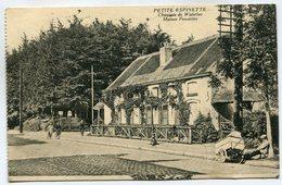 CPA - Carte Postale - Belgique - Petite Espinette - Chaussée De Waterloo - Maison Forestière - 1923 (SV6535) - Ukkel - Uccle