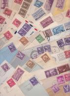 USA ETATS-UNIS - Beau Lot Varié De 361 Enveloppes Timbrées Avant 1950 Air Mail Covers Letters Stamps Franking Post Mark - Etats-Unis