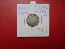 TURQUIE(OTTOMAN) 2 KURUSH 1327 AH . SUPERBE+ (Petit Manque D'argent Sur Un Bord) - Turquie