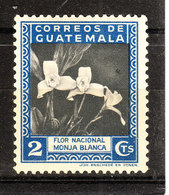 Guatemala  -  1939.  Monja Blanca, Orchidea Fiore Nazionale Del Guatemala. National Flower Of Guatemala. MLH - Orchidee