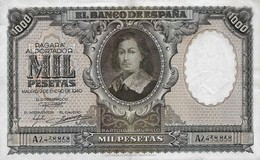 Spain 1000 Pesetas 1940. VF/XF - [ 3] 1936-1975 : Régence De Franco