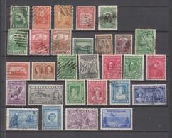 Lot De Timbres Oblitérés - 1865-1902