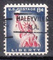USA Precancel Vorausentwertung Preo, Locals Alabama, Haleyville 804 - Etats-Unis