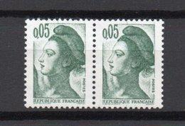 - FRANCE - Variété N° 2178 - 5 C. Vert-noir Type Liberté 1982 - GRIFFE SUR BONNET - - Variétés Et Curiosités