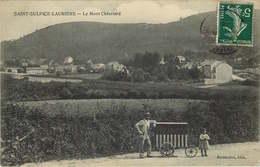 HAUTE VIENNE SAINT SULPICE LAURIERE  Le Mont Chatelard   BOULANGERIE AMBULANT - France