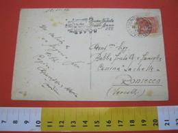 T1 ITALIA ANNULLO TARGHETTA - 1956 TORINO PORTA NUOVA AVV. CELERE BUON NATALE BUON ANNO PTT PASTORI COMETA STELLA STAR - Natale