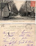 """SAINTE REPARADE - Avenue De La Gare - Rare Cachet Ambulant """"Eyguières A Meyrargues (Ind. 6) (110496) - Autres Communes"""