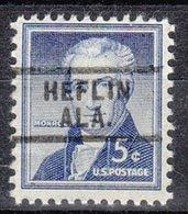 USA Precancel Vorausentwertung Preo, Locals Alabama, Heflin 729 - Etats-Unis