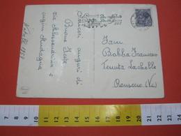 T1 ITALIA ANNULLO TARGHETTA - 1957 TORINO BUON NATALE BUON ANNO PTT PASTORI COMETA STELLA STAR - Natale