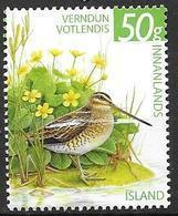 Islande 2011, N°1253 Neuf Oiseau Bécassine - Neufs