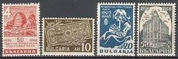 - Bulgaria / Bulgarie 1946 - Set(Mi No 524-7) MNH** - Neufs
