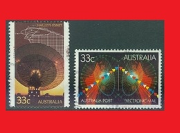Australia, 1986 Halley's Comet &  1985 Electronic Mail - Astrologie