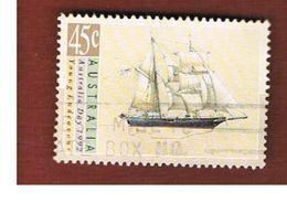 AUSTRALIA  -  SG 1333  -      1992 SHIPS: YOUNG ENDEAVOUR           -       USED - 1990-99 Elizabeth II
