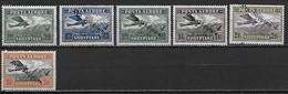 ALBANIE 1925-1927 - Poste Aérienne - YT AE 4 10 11 12 13 14 ** - Cote YT : 50 Euros MNH - Albanie