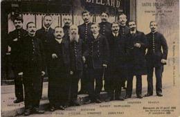C.P.A. 75 Paris. Grèves Des Facteurs Révoqués Du 11 Avril, 1906 .(en L'état) - Francia
