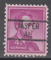 USA Precancel Vorausentwertung Preo, Locals Alabama, Jasper 839 - Etats-Unis