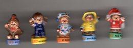 Série 5/10 Fèves Brillantes KIKI MON AMI  - ALCARA Pour EPI FOLIE 2008 - Dessins Animés
