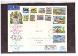 211   -    TANZANIA    /    FDC  Y&T. Nr.   1/12 - Tanzania (1964-...)