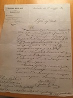 TRAFORO DELLE ALPI-MAGAZZINO-SUD-BARDONECCHIA-23-5-1860 - Italia