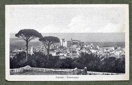 Cartolina Carini - Panorama - 1948 - Palermo