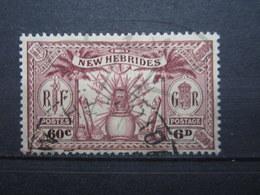 VEND BEAU TIMBRE DES NOUVELLES-HEBRIDES N° 96 !!! - Used Stamps