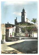 Cpsm Reillanne, Vue Pittoresque ( Clocher ) - France
